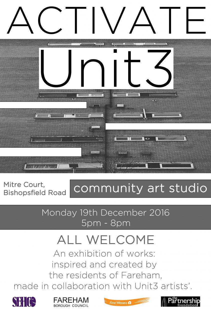 Unit3 ACTIVATE Exhibition Poster 2016